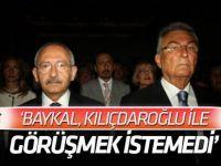 'Deniz Baykal, Kılıçdaroğlu ile görüşmek istemedi' iddiası