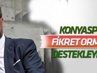 Konyaspor'dan Fikret Orman'a destek