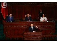 Fransa Cumhurbaşkanı Macron Tunus'ta