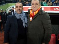Mehmet Özdilek ve Fatih Terim'den maç değerlendirmesi