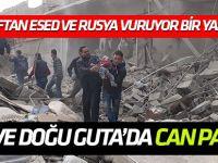 Esed rejiminden Doğu Guta'ya hava saldırıları: 51 ölü