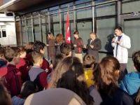 Yöntem Kolejinden Afrin  Ve Şehitler İçin Dua