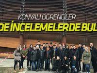 Konyalı öğrenciler CERN'deydi