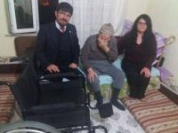 Gönül Gözü Derneği Derbent'de bir engelliye daha umut oldu