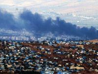 Cinderes'i dumanlar kapladı