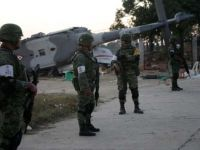 Meksika'da İçişleri Bakanı'nı taşıyan helikopter düştü! 13 ölü var...