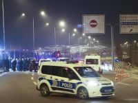 Cumhurbaşkanlığı Külliyesi önünde bariyerlere çarpan sürücü gözaltına alındı