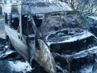 Almanya'da DİTİB'e ait bir araç yandı
