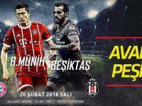 Beşiktaş, Bayern Münih maçına hazır