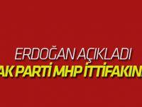 Erdoğan açıkladı! İşte AK Parti-MHP ittifakının adı