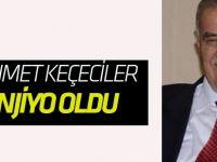 Mehmet Keçeciler başarılı bir operasyon geçirdi