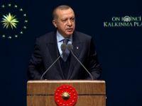 Cumhurbaşkanı Erdoğan, 11. Kalkınma Planı Tanıtım Toplantısı'nda konuşuyor