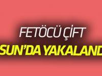 Aranan FETÖ/PDY şüphelisi çift yakalandı