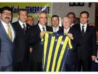 Fenerbahçe Başkanı Yıldırım, Hatay'da