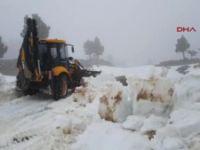 Akseki-Seydişehir Yolunda yayla yolları kapandı