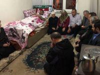 AK Parti Milletvekili Erdoğan'dan gazi Çetin'e ziyaret