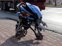 Konya'da Anne ve 2 Yaşındaki Çocuğu Kazada Ağır Yaralandı