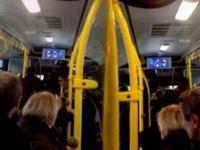 EGO'suna yenilen sürücü yolcuları 40 dakika esir aldı! / VİDEO
