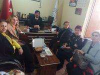 CHP'li Kadınlardan Gönül Gözü derneğine ziyaret