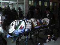 Konya'da Otomobil Elektrik Direğine Çarptı: 3 Yaralı