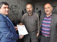 Askeri aracı onarıp ücret almayan tamirciye teşekkür belgesi