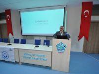 """Prof. Dr. Arabacı: """"Çanakkale'nin ruh iklimini okumuşların okuması lazım"""""""