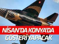 SOLOTÜRK, Nisan ayında Konyalılarla buluşacak