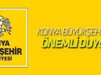 Konya Büyükşehir'den Afrin duyurusu