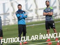 Konyaspor'da futbolcular inançlı