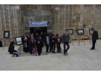 Karaman'da resim sergisi açılışı