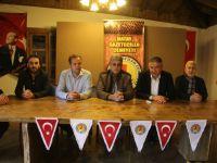 Konyalı Gazetecilerden Mehmetçiğe Destek