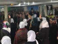 Afrin'de ölen teröristler için İstanbul'da anma yaptılar!