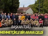 Başkan Toru, Mehmetçikle bir araya geldi