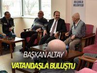 Başkan Altay: Başarımızda Hemşehrilerimizle İletişimizin Büyük Payı Var