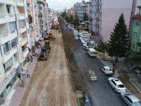 Beyşehir'de caddeler Asfaltlanıyor
