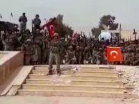 """Afrin'i """"komando andı"""" ile inlettiler! / VİDEO"""