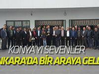 Konya'yı Sevenler Ankara'da buluştu