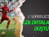 Spor Toto Süper Lig'in gol ortalaması düştü