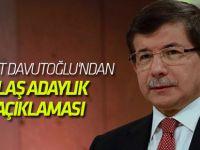 Ahmet Davutoğlu'ndan İstanbul Büyükşehir Belediye Başkanı adaylığıyla ilgili flaş açıklama
