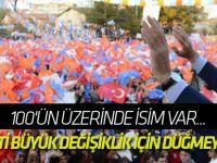 AK Parti büyük değişiklik için düğmeye bastı!
