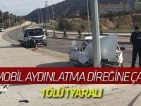 Konya'da otomobil aydınlatma direğine çarptı: 1 ölü, 1 yaralı