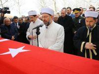 Hasan Celal Güzel'in cenazesi toprağa verildi