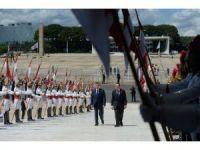 Kolombiya Devlet Başkanı Santos'un Brezilya ziyareti