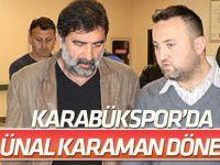 Kardemir Karabükspor'da Ünal Karaman dönemi