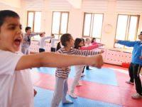 Selçuklu'da,13 okulda ücretsiz spor eğitimi