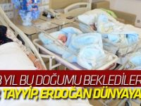 Recep, Tayyip, Erdoğan dünyaya geldi! / VİDEO