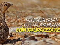 Yasak Kuş Avlayanlara 8 Bin 314 Lira Ceza Kesildi