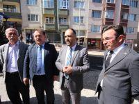 Başkan Özaltun'dan esnaf gezileri