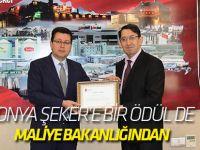Konya Şeker'e Bir Ödül De Maliye Bakanlığından