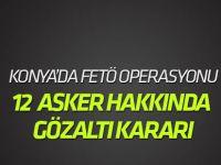 Konya merkezli 4 ilde FETÖ operasyonu